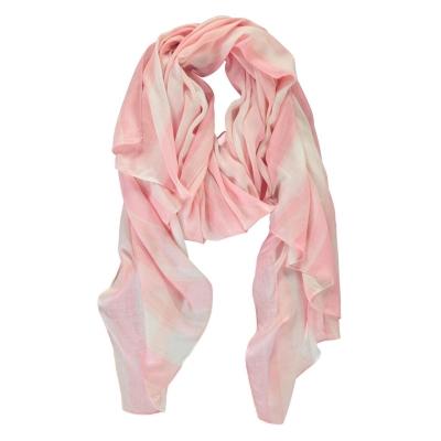 Esarfa Full Circle cu dungi pentru Femei roz