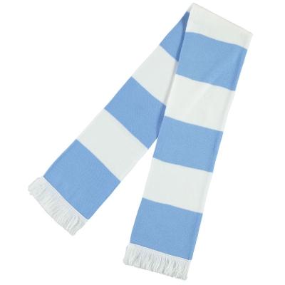 Esarfa Team Bar albastru alb