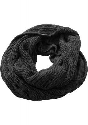 Fulare tricotate tubulare gri carbune Urban Classics