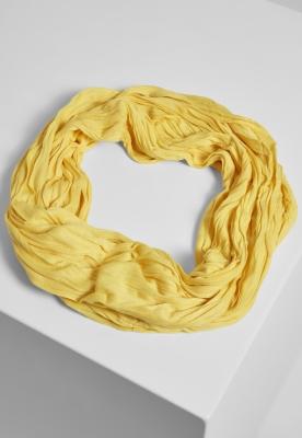 Esarfa Wrinkle Loop galben MasterDis