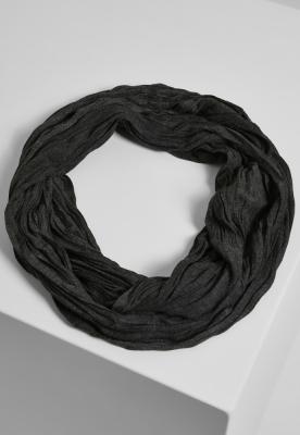 Esarfa Wrinkle Loop gri-carbune MasterDis