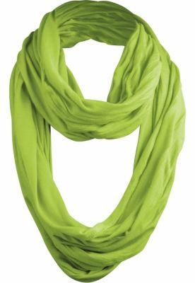 Esarfa Wrinkle Loop verde-lime MasterDis
