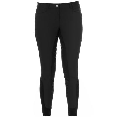 Pantaloni echitatie Breeches Eurostar Carina Full Grip pentru Femei negru
