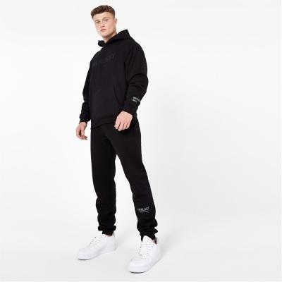 Pantaloni jogging Everlast Unisex Lifestyle negru
