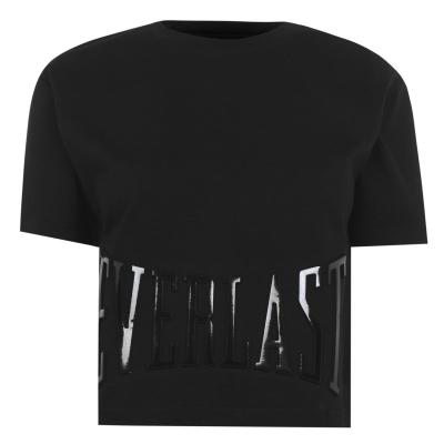Tricouri sport Tricou cu logo Everlast Cropped - negru