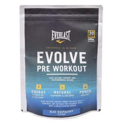 Everlast Evolve Pre-Workout Powder albastru roz