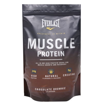 Everlast Muscle Protein Powder choc maro