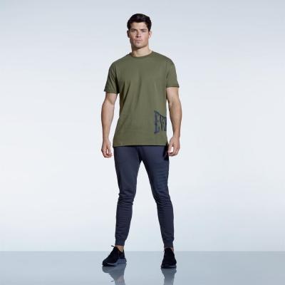 Tricou Everlast Print pentru Barbati kaki