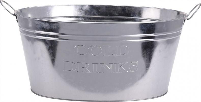 Excellent Houseware Oval Zinc Cooler