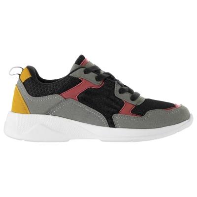 Adidasi sport Fabric Corso Juniors negru multicolor