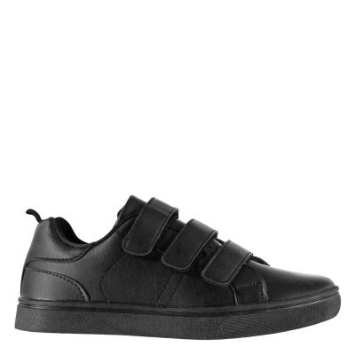 Adidasi sport Fabric Low Velcro Juniors negru