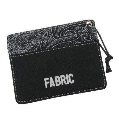 Fabric Pais Card Holder