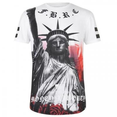 Tricou Fabric Sublimation pentru Barbati liberty alb