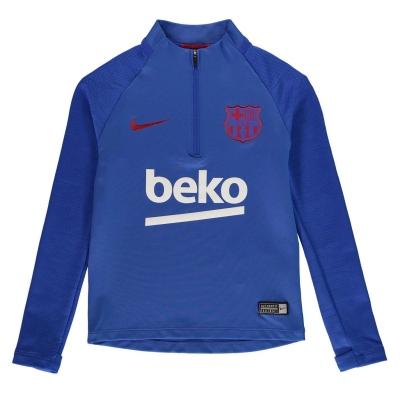 FC Barcelona FC Barcelona Strike Drill Top Juniors albastru