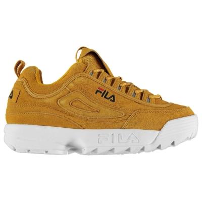 Adidasi sport Fila Disrupter Low Version inca auriu