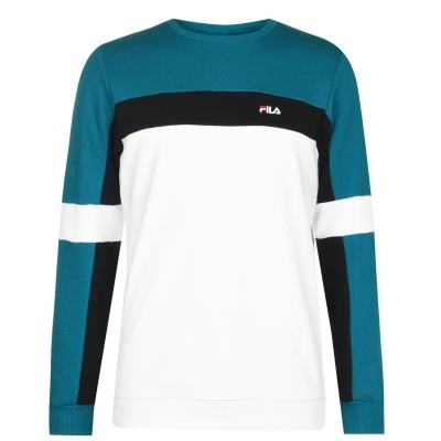 Bluza sport Fila Norbin pentru Barbati verde negru alb
