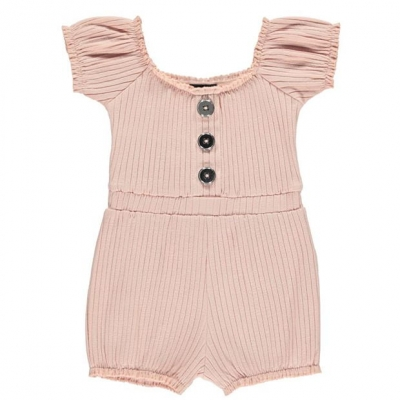 Salopeta Firetrap Rib pentru fete pentru Bebelusi mov roz