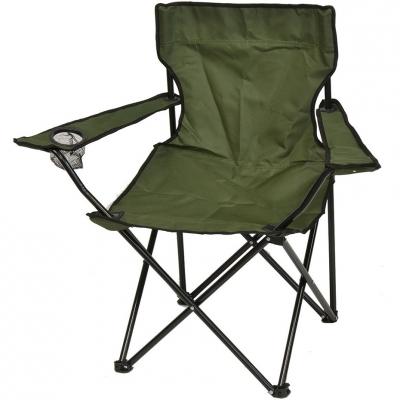 Folding Tourist Chair 50x50x80cm verde 1020273