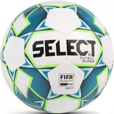 Minge fotbal Select Futsal Super FIFA 2018 alb 14296 copii