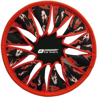 Frisbee Schildkrot Speed Disc neopren rosu-negru 970053
