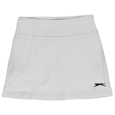 Fusta pantaloni Slazenger Court pentru fetite alb