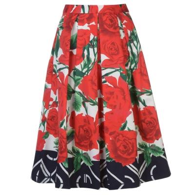 Fusta Gant Gant Pleated Rose pentru femei