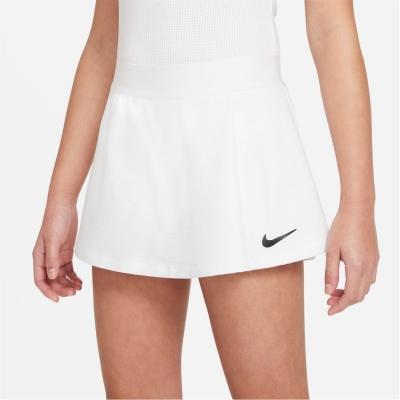 Fusta Nike Court Victory Big () tenis pentru fete pentru Copii alb negru