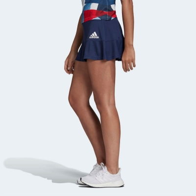Fusta tenis adidas Team GB pentru Femei indigo alb