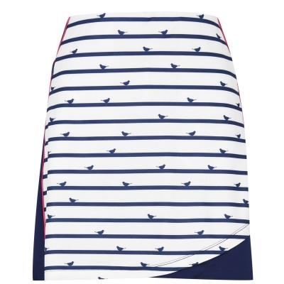 Fusta pantaloni Callaway Birdie pentru Femei alb albastru