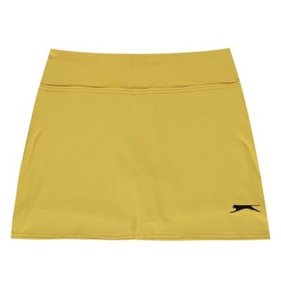 Fusta pantaloni Slazenger Court pentru fetite galben