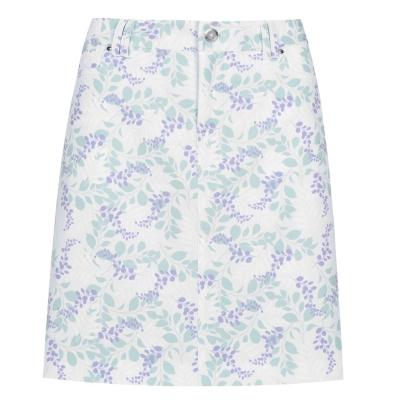 Fusta pantaloni Slazenger pentru Femei alb