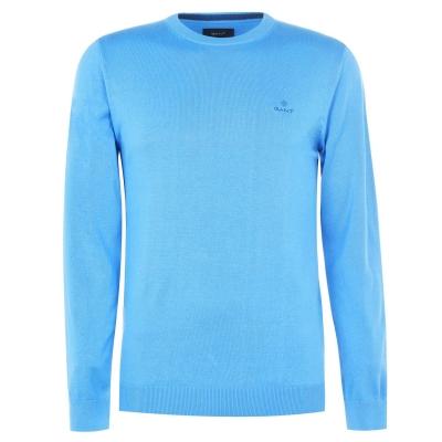 Pulovere Gant bumbac Crew albastru