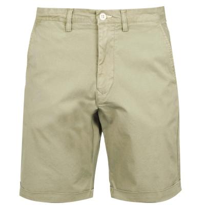 Pantaloni scurti Gant Regular Sunfold oil verde