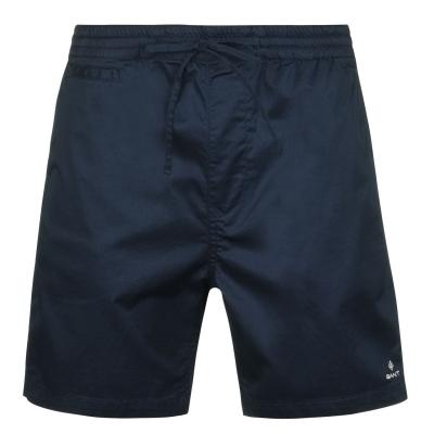 Pantaloni scurti Gant Relax Logo bleumarin