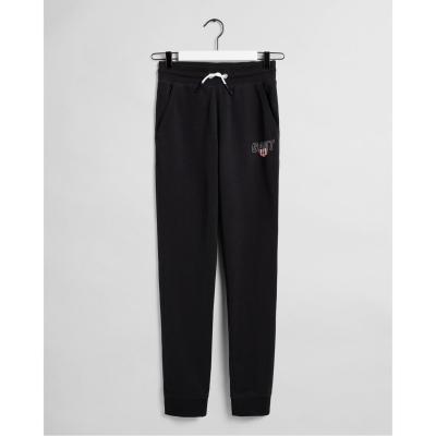Pantaloni jogging Gant Sport Shield negru