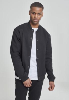 2-tone College Sweatjacket Urban Classics negru