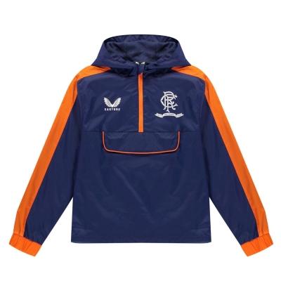 Geaca Castore Rangers 2021 2022 pentru copii bleumarin portocaliu