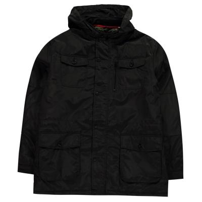 Jacheta D555 Brentford cu captuseala pentru Barbati negru