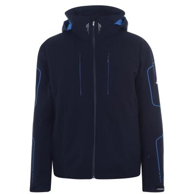 Jacheta Descente Isak pentru Barbati negru albastru