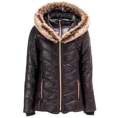 Geaca iarna Firetrap Luxe pentru fetite negru