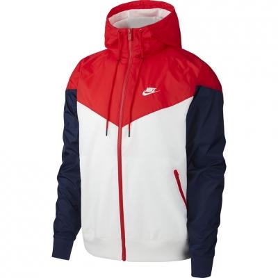 Geaca Jacheta Nike M HE WR HD alb-rosu-albastru AR2191 104 pentru Barbati
