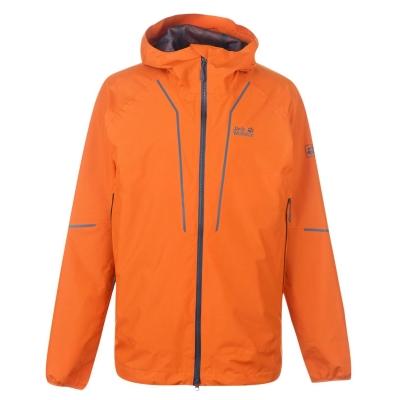 Jacheta Jack Wolfskin Wolfskin Siera Trail pentru Barbati bej portocaliu