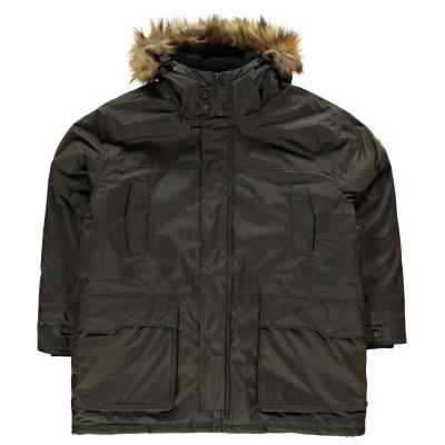 Jacheta parka D555 Lovett pentru Barbati kaki