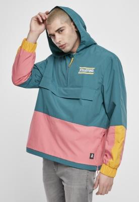 Geaca pentru vant Starter Multicolored Logo verde-galben roz