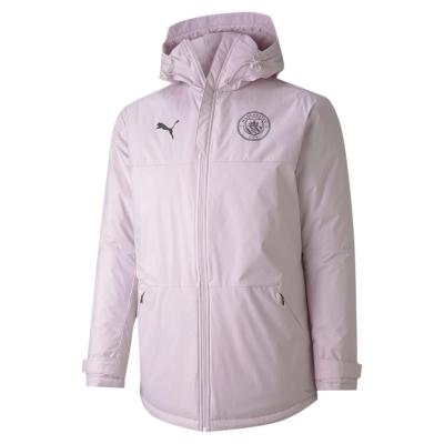 Jacheta Puma Manchester City FC iarna pentru Barbati lila snow