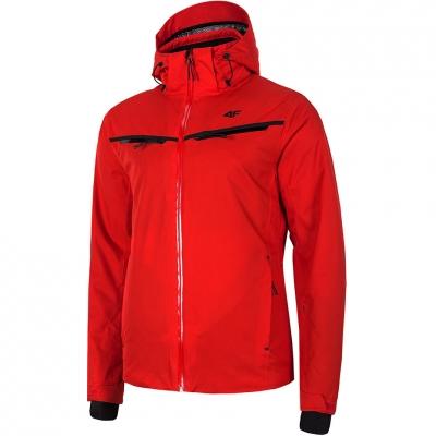 Geaca Ski barbati 4F rosu H4Z19 KUMN007 62S