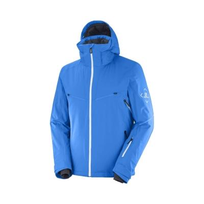 Geaca Ski Barbati BRILLIANT JKTM Albastru Salomon