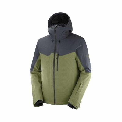 Geaca Ski Barbati UNTRACKED JKT M Verde Salomon