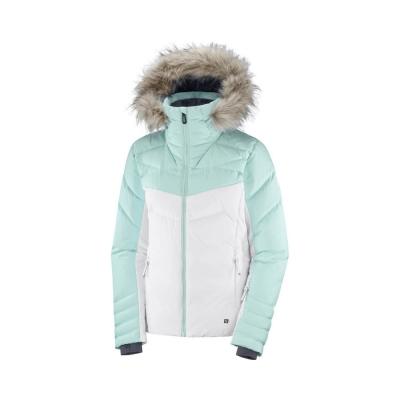 Geaca Ski Femei WARM AMBITION JKT W Alb Salomon