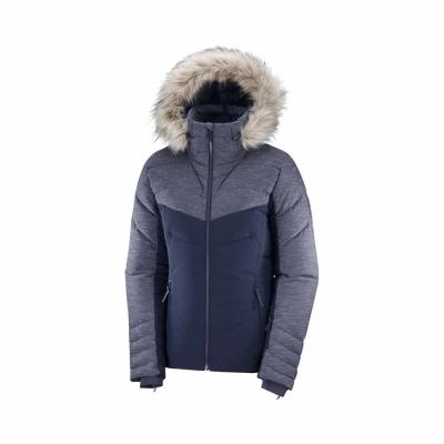 Geaca Ski Femei WARM AMBITION JKT W Bleumarin Salomon